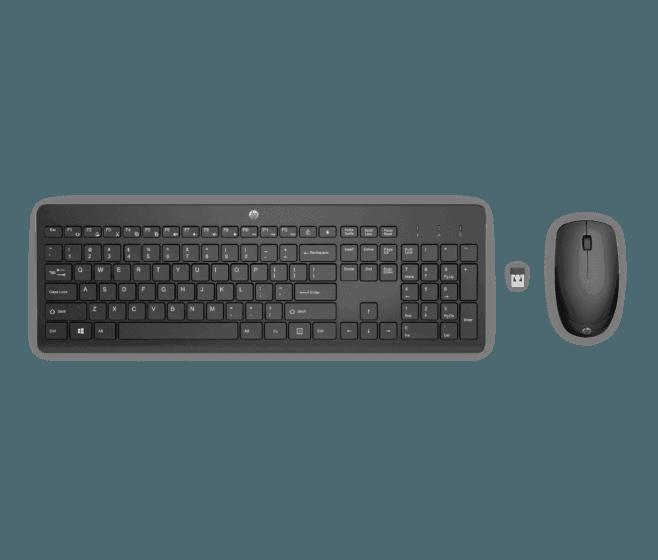 Teclado y Mouse Inalámbricos HP230