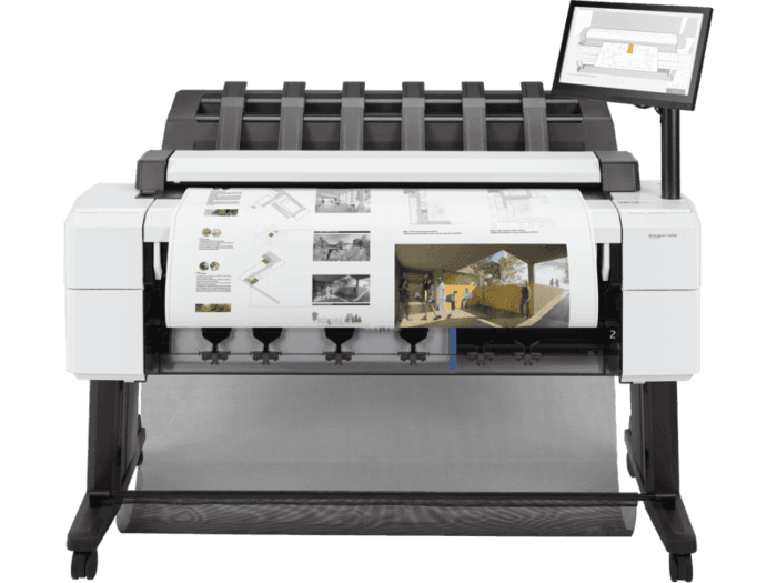 Impresora Multifunción HP DesignJet PostScript T2600dr de 36