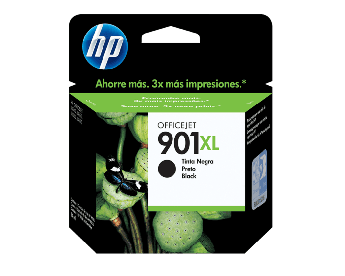 Cartucho de Tinta HP 901XL Negra Original