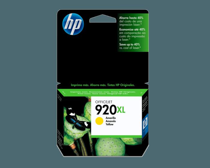 Cartucho de Tinta HP 920XL Amarilla Original