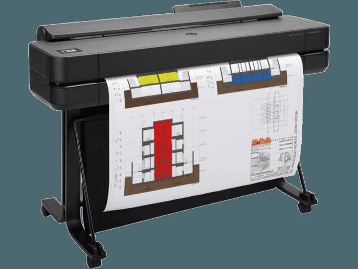 Impresora HP DesignJet T650 de 36 pulgadas