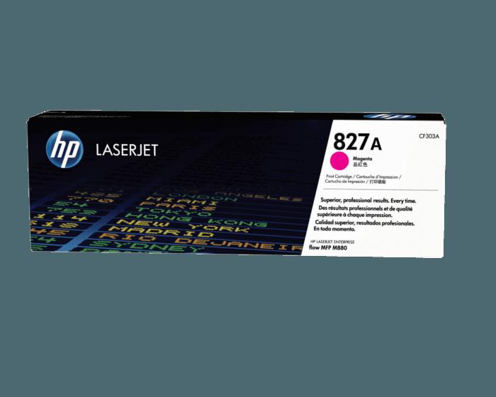 Cartucho de Tóner HP 827A Magenta LaserJet Original