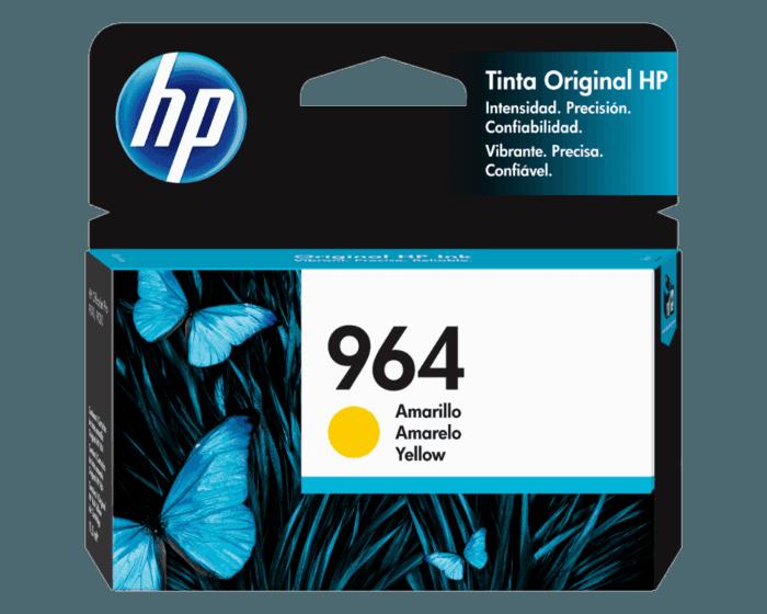 Cartucho de Tinta HP 964 Amarilla Original