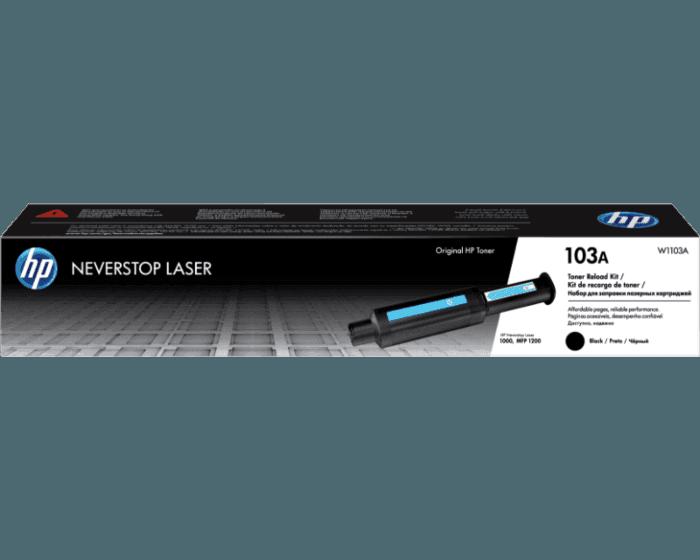 Kit de Recarga de Tóner HP Neverstop Laser 103A Negro Original