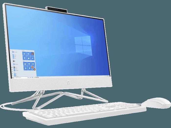 Todo en uno Hp 22-dd0012la Athlon 4GB 1TB 21.5 Fhd Blanco