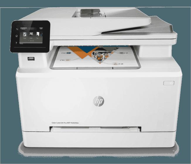 Impresora HP Color LaserJet Pro M283fdw