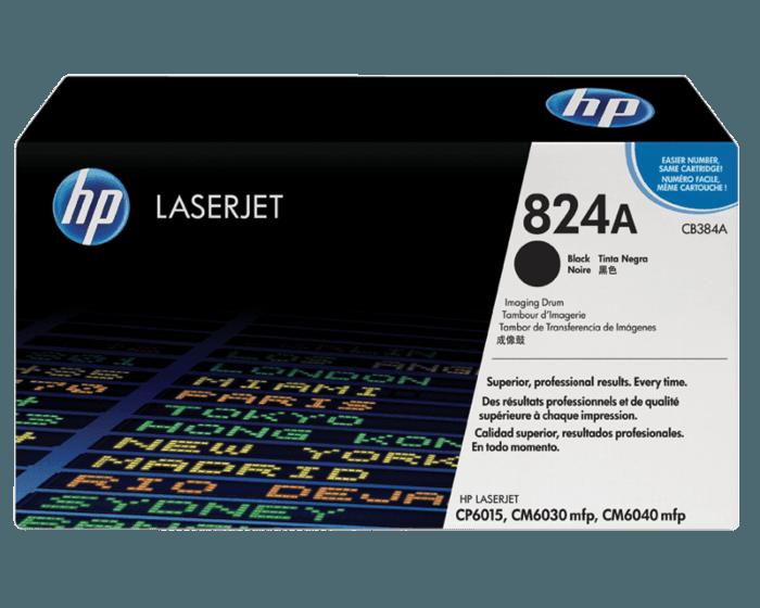 Tambor de Creación de Imágenes HP LaserJet 824A Negro Original