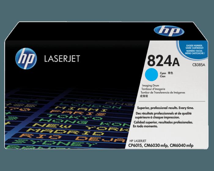 Tambor de Creación de Imágenes HP LaserJet 824A Cian Original