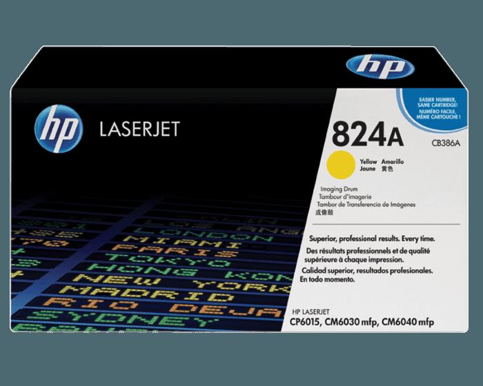 Tambor de Creación de Imágenes HP LaserJet 824A Amarillo Original