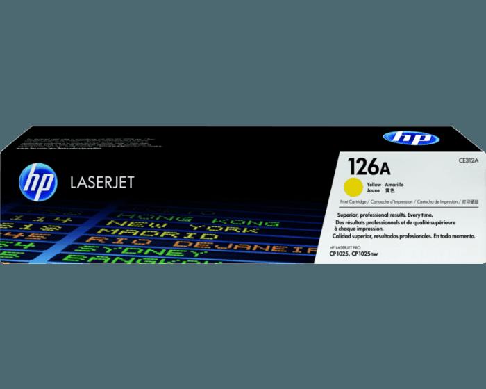 Cartucho de Tóner HP 126A Amarillo LaserJet Original