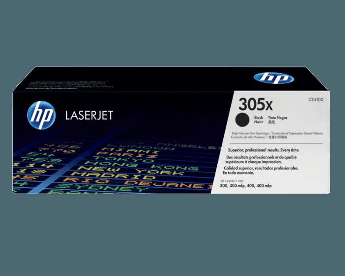 Cartucho de Tóner HP 305X Negro Alto Rendimiento LaserJet Original