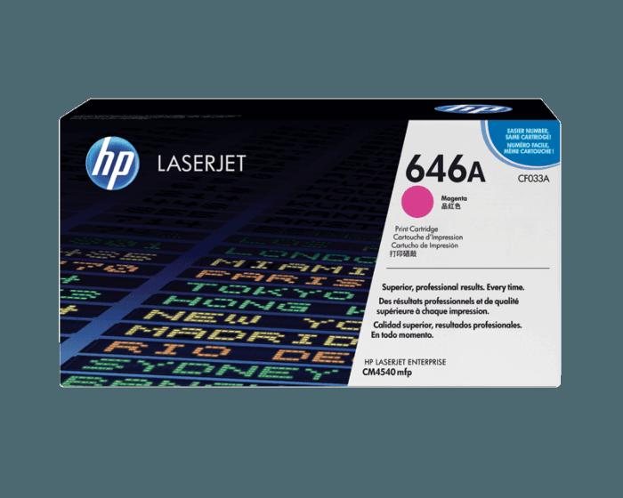 Cartucho de Tóner HP 646A Magenta LaserJet Original