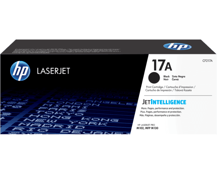Cartucho de Tóner HP 17A Negro LaserJet Original