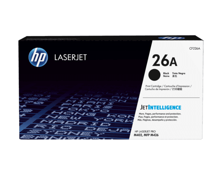 Cartucho de Tóner HP 26A Negro LaserJet Original