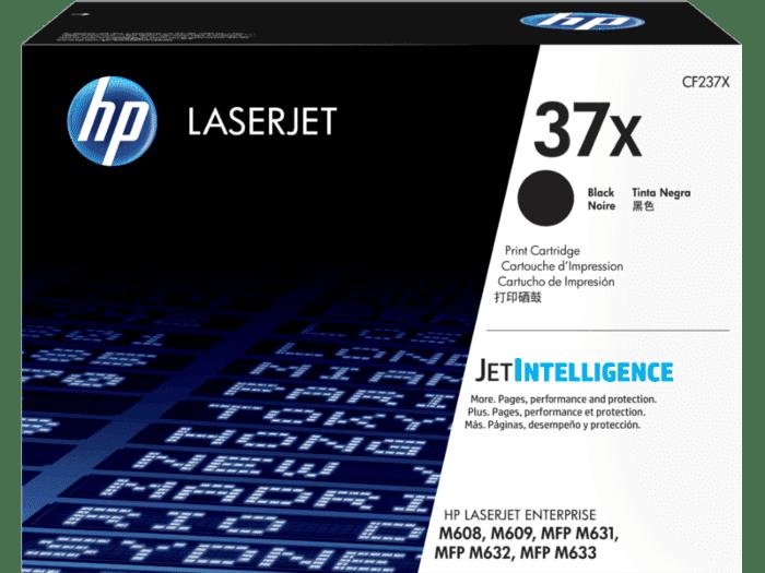 Cartucho de Tóner HP 37X Negro Alto Rendimiento LaserJet Original