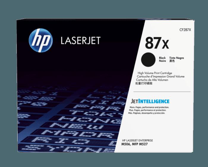 Cartucho de Tóner HP 87X Negro Alto Rendimiento LaserJet Original