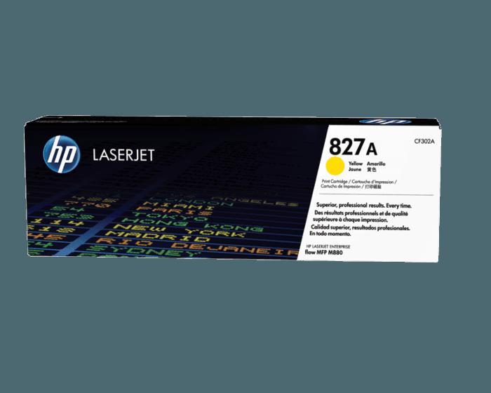 Cartucho de Tóner HP 827A Amarillo LaserJet Original