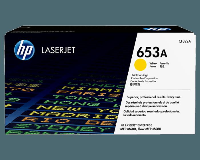 Cartucho de Tóner HP 653A Amarillo LaserJet Original