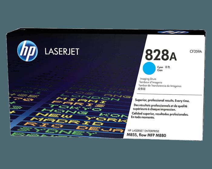 Tambor de Creación de Imágenes HP LaserJet 828A Cian Original