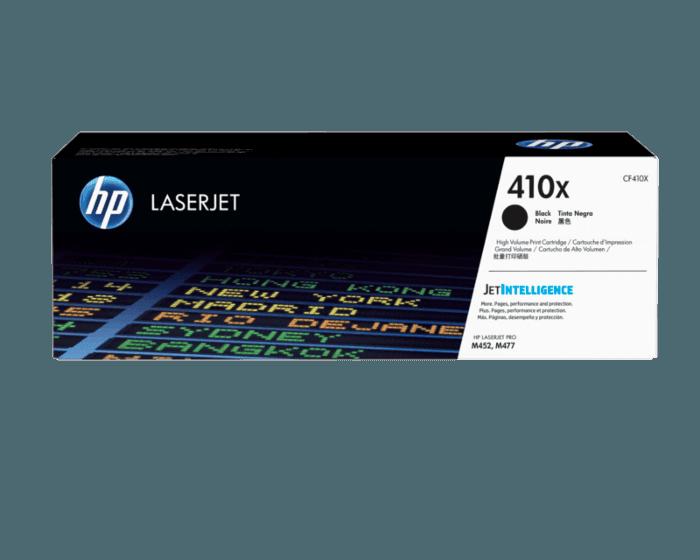 Cartucho de Tóner HP 410X Negro Alto Rendimiento LaserJet Original
