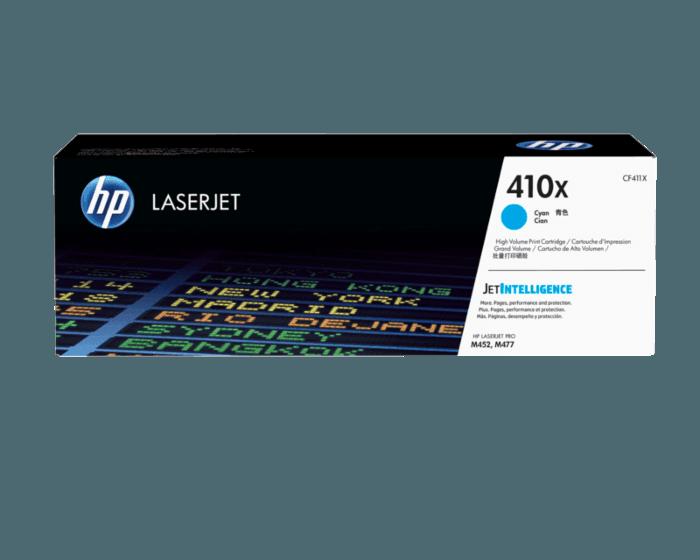Cartucho de Tóner HP 410X Cian LaserJet Original