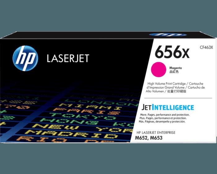 Cartucho de Tóner HP 656X Magenta Alto Rendimiento LaserJet Original