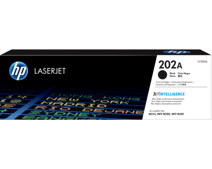 Cartucho de Tóner HP 202A Negro LaserJet Original