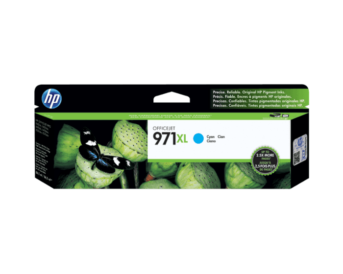 Cartucho de Tinta HP 971XL Cian Original