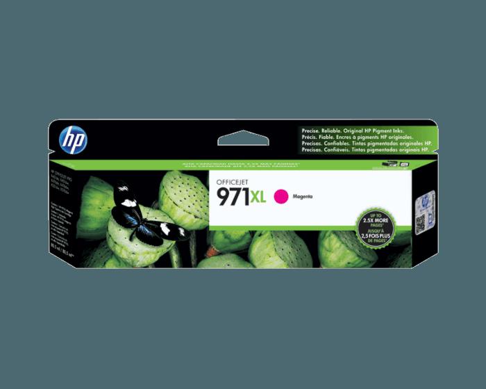 Cartucho de Tinta HP 971XL Magenta Original