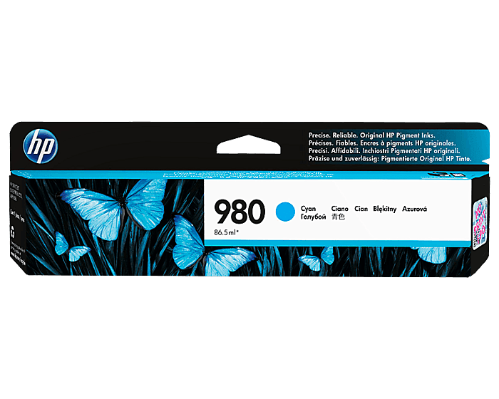 Cartucho de Tinta HP 980 Cian Original