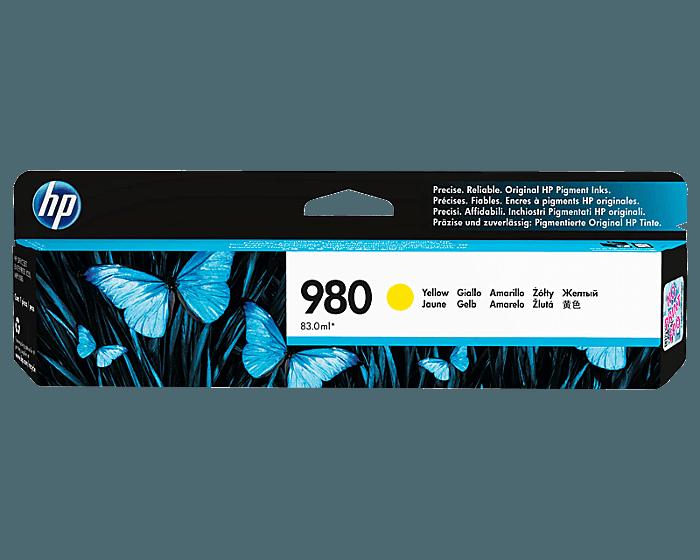 Cartucho de Tinta HP 980 Amarilla Original