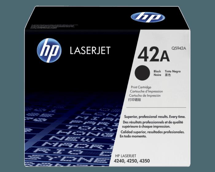 Cartucho de Tóner HP 42A Negro LaserJet Original