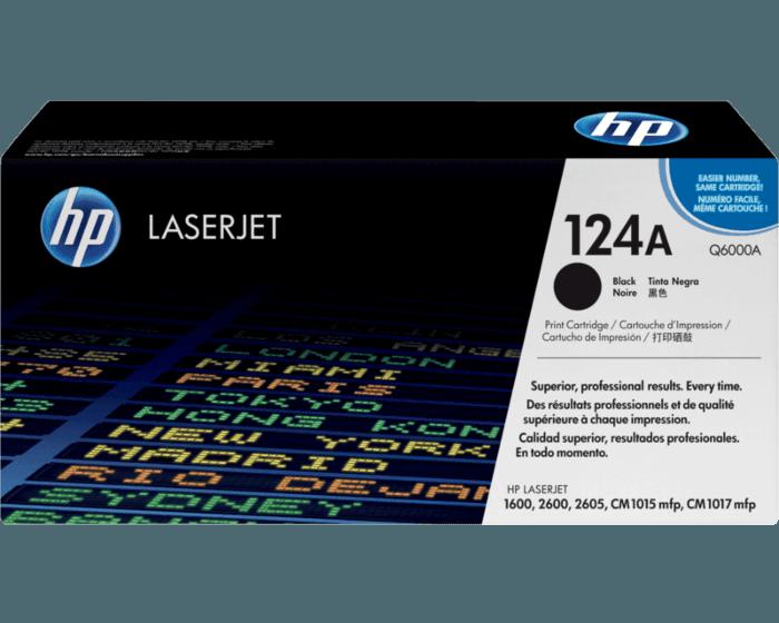 Cartucho de Tóner HP 124A Negro LaserJet Original