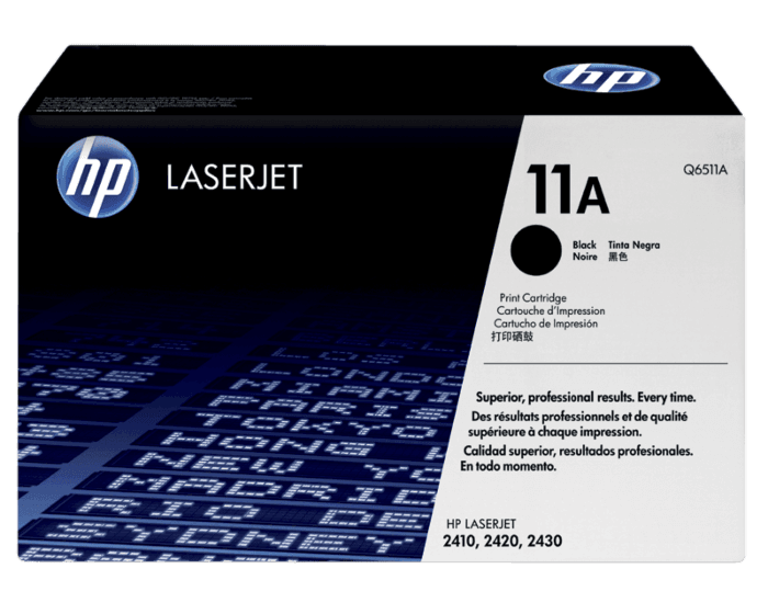 Cartucho de Tóner HP 11A Negro LaserJet Original