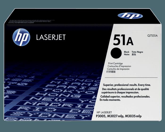 Cartucho de Tóner HP 51A Negro LaserJet Original