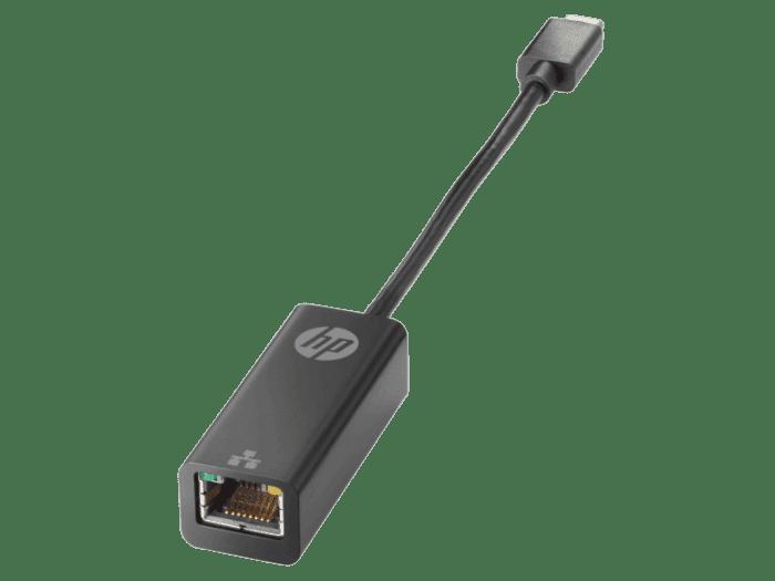Adaptador HP USB Tipo C a RJ45
