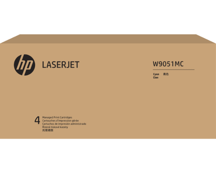 Cartucho de Tóner HP W9051MC Cian LaserJet Managed