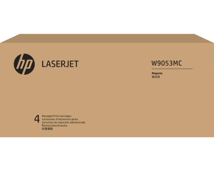 Cartucho de Tóner HP W9053MC Magenta LaserJet Managed