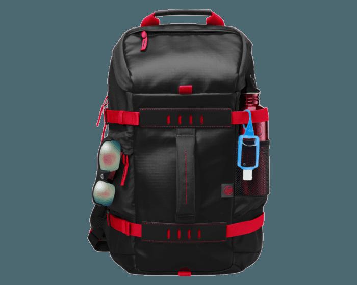 Morral HP Odyssey Roja/Negra de 15.6