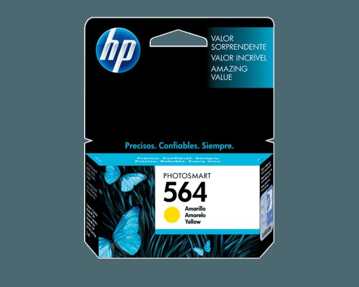Cartucho de Tinta HP 564 Amarilla Original
