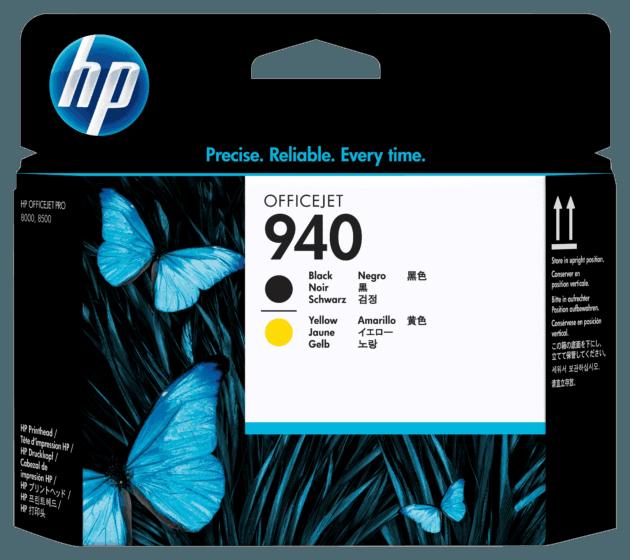 Cabezal de Impresión HP 940 Negro y Amarillo