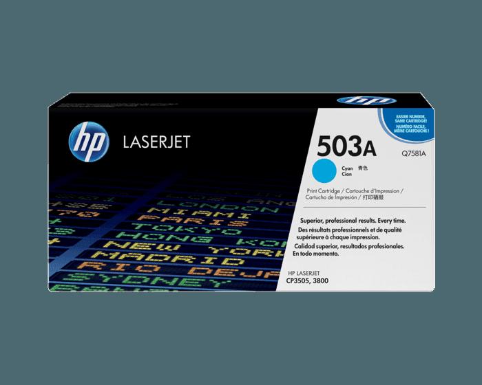 Cartucho de Tóner HP 503A Cian LaserJet Original