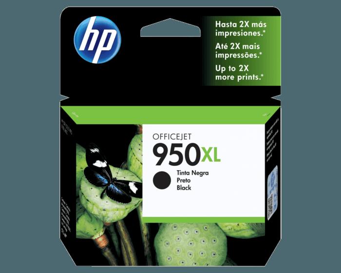 Cartucho de Tinta HP 950XL Negra Original