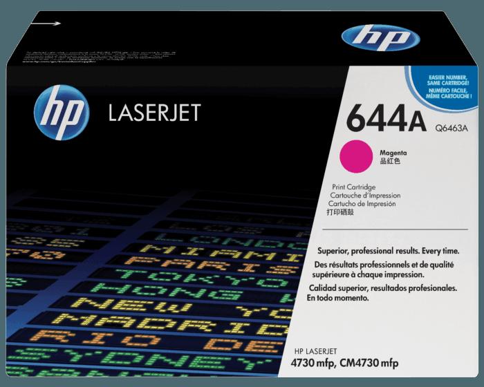 Cartucho de Tóner HP 644A Magenta LaserJet Original
