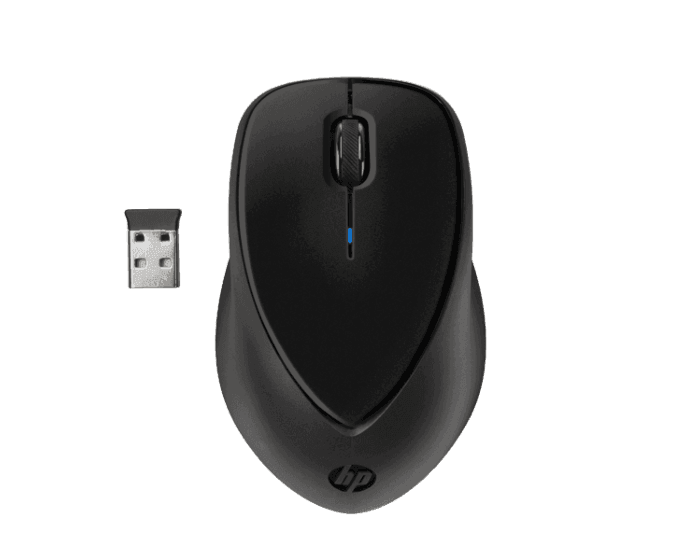 Mouse Inalámbrico HP de Sujeción Cómoda