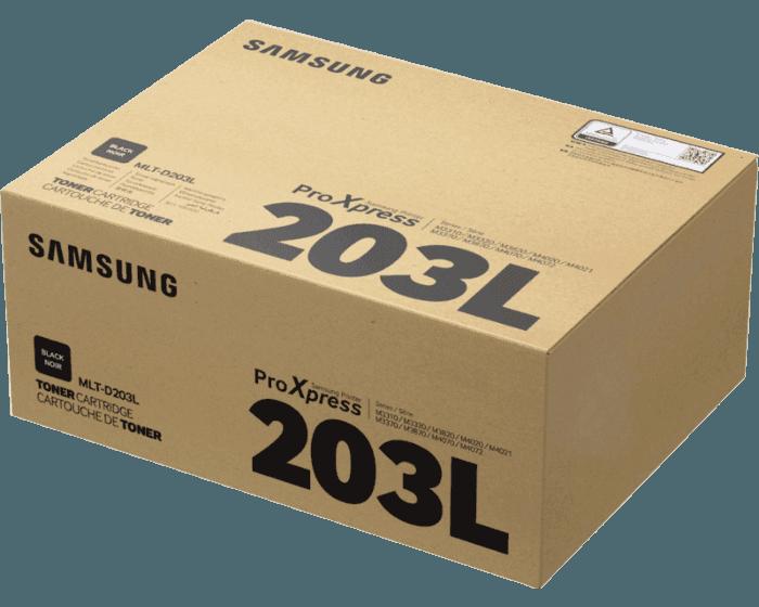 Cartucho de Tóner Samsung MLT-D203L Negro de Alta Capacidad Original