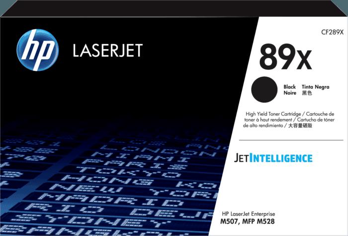 Cartucho de tóner original LaserJet HP 89X negro de alta capacidad