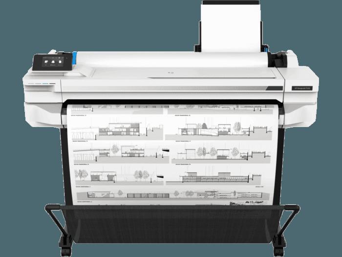 "Impresora HP DesignJet T530 de 36"""