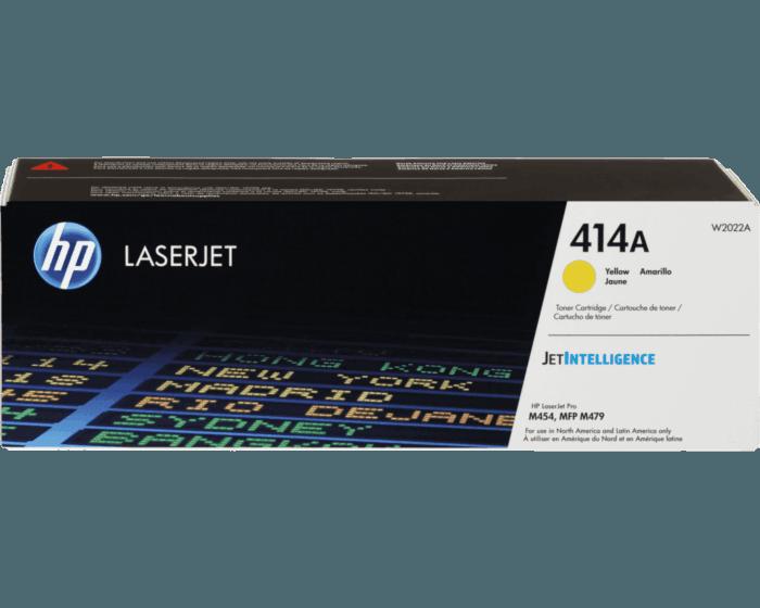 Cartucho de Tóner HP 414A Amarillo LaserJet Original