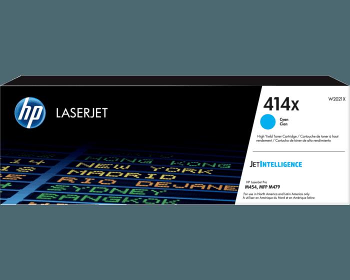 Cartucho de Tóner HP 414X Cian Alto Rendimiento LaserJet Original